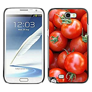 Exotic-Star ( Fruit Macro Cherry Tomatoes ) Fundas Cover Cubre Hard Case Cover para Samsung Galaxy Note 2 II / N7100