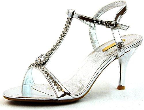 03 Silver Women Sandal - 6