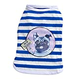 S-Lifeeling Sweet Shirts Spring Summer Teddy Dog Clothes Pet Costumes handsome-dog pattern offers