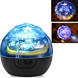 Star Night Light for kids, Universe Night Light Projection Lamp, Romantic Star Sea Birthday Christmas Projector Lamp for bedroom - 5 Sets of Film