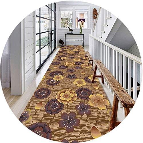 YANAN-廊下ランナー カーペットランナーのための通路回廊ダストフリーのために廊下洗えるキッチンホールランナー階段ランナー ロングカーペット (Size : 0.5×2m)