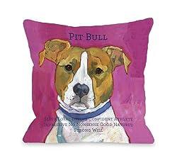 Bentin Pet Decor Pit-Bull Pillow
