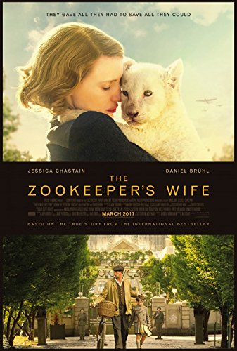 The Zookeeper's Wife - Original Movie Postcard 2017 Jessica Chastain