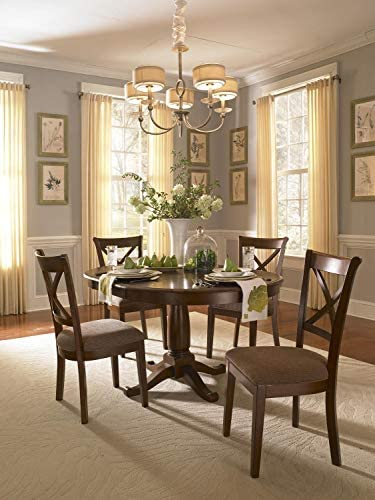A-America DeSoto 60 Oval Dining Table with 18 Leaf