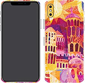 Switch iPhone X Skin d esert City