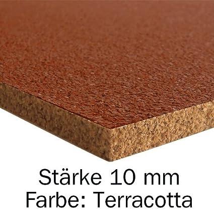 915 x 610 x 10 mm Rot Pinnwand Korkplatte