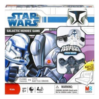 (Star Wars: The Clone Wars Galactic Heroes Game - Clone Trooper vs. Super Batt...)