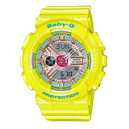 カシオ ベビーG BABY-G クオーツ レディース 腕時計 BA-110CA-9A イエロー [並行輸入品] B01DOT1Q60