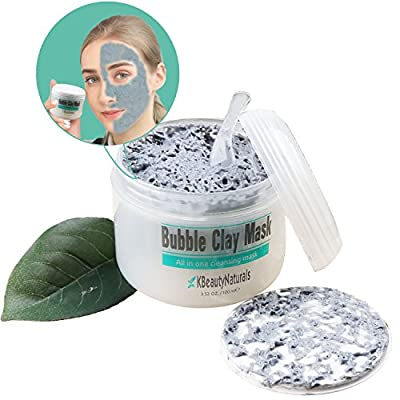 KBeautyNaturals | Carbonated Bubble Clay Mask