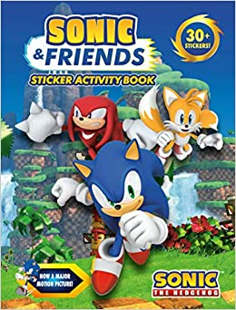 Sonic Friends Sticker Activity Book Sonic The Hedgehog Penguin Young Readers Licenses 9780593093023 Amazon Com Books