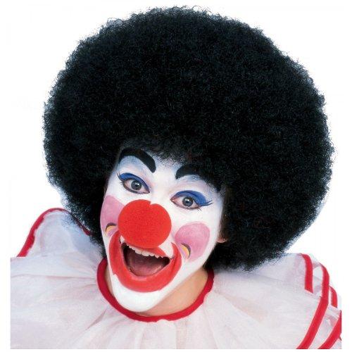 Rubie's Costume Medium Length Kanekalon Afro Wig, Black, One Size