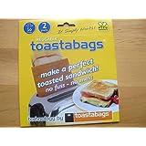 REUSABLE TOASTABAGS sandwich toaster toastie bags toast