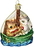 Best KURT ADLER Cat Trees - Old World Christmas Owl And Pussy Cat Glass Review
