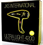 JKS Italian Ultra Light 4200 Powerful Blow Dryer, Award Winner, professional stylist #1 choice For Sale