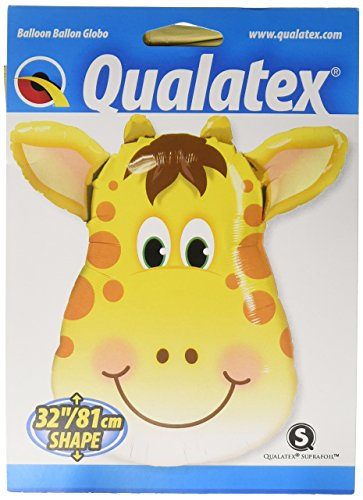 Price comparison product image PIONEER BALLOON COMPANY 16095 Jolly Giraffe Balloon Pack, 32""