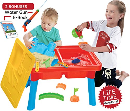 water and sand activity table - 7