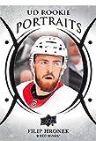 2018-19 Upper Deck Hockey UD Rookie Portraits #P-84 Filip Hronek Detroit Red Wings Official NHL RC Card