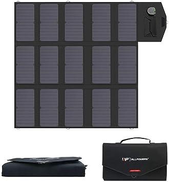 ALLPOWERS Cargador Solar Portátil del Panel 100W 18V 12V ...