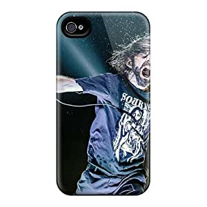 SherriFakhry Iphone 4/4s High Quality Hard Cell-phone Case Allow Personal Design Nice Foo Fighters Image [yYw18320Bxrc]