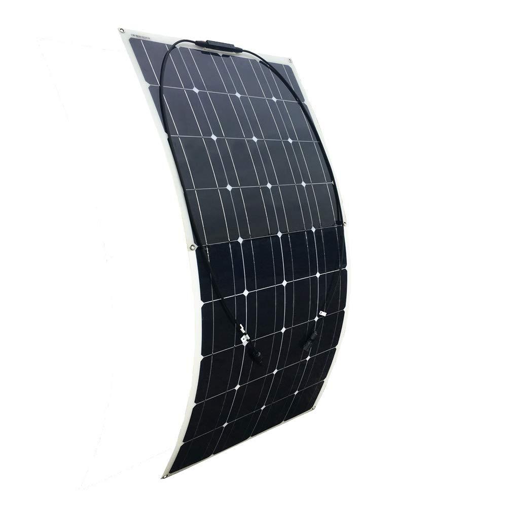 YUANFENGPOWER 200 watt 12 v Off Grid Solar Kit 2 st/ücke 100 Watt Flexibles Solarpanel Solarmodul 20A USB Controller f/ür Wohnmobil Auto RV Hause Dach 12 v Ladeger/ät