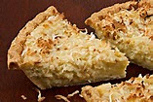 Coconut Custard Pie - Caribbean Baked Coconut Custard