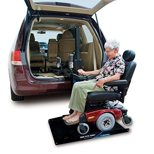 Harmar Mobility Upgraded AL600 Scooter & Wheelchair Hybrid Platform Lift with Mounting Kit & Wiring Harness (Wheelchair Size Full)