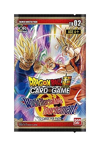 - 2018 Dragon Ball Super World Martial Arts Tournament Themed Booster Box - 24 Packs