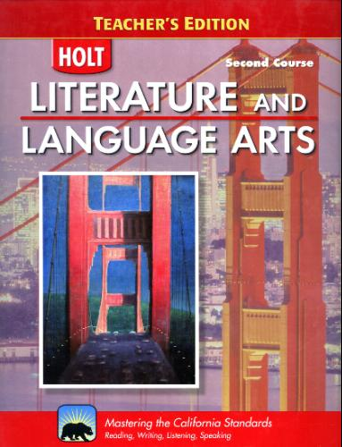 Download HOLT Literature and Language Arts Second Course - Teacher's Edition PDF