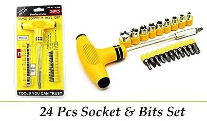 JAPP T Shape 22-Piece Tool Kit for Home Machine (Multicolour)