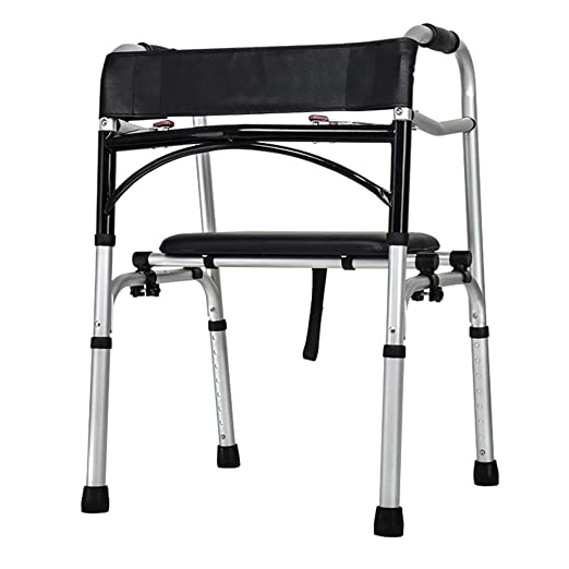 Giow Drive Medical-Rollator Walker con Asiento y Frenos de ...