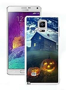 Custom-ized Halloween White Samsung Galaxy Note 4 Case 6 by icecream design