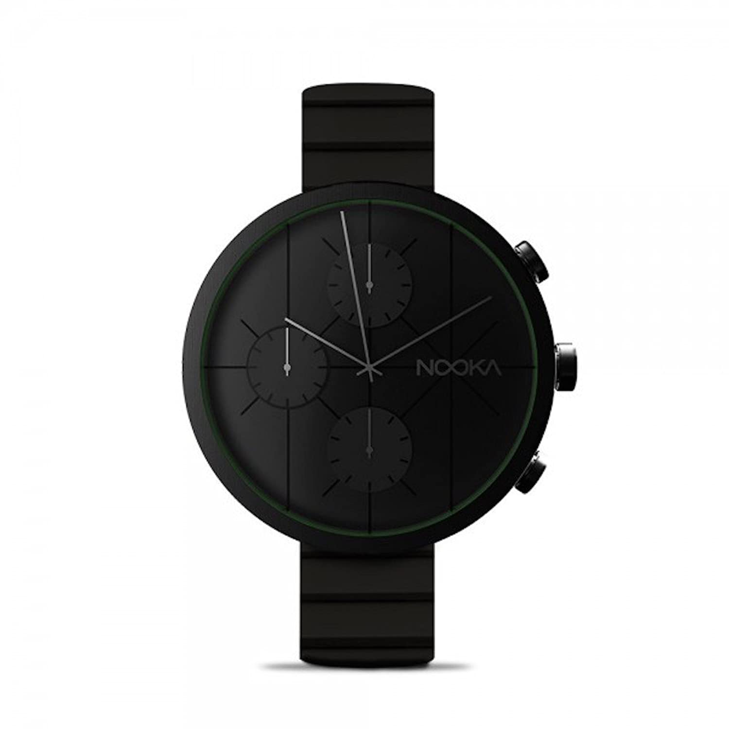 NOOKA NOOKRONO Midnight Chronograph Silikonband 48mm Big Watch