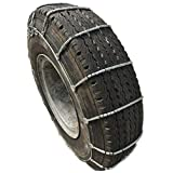 TireChain.com 235/80-22.5, 235/80 22.5 Cable Tire Chains with Cam Set of 2