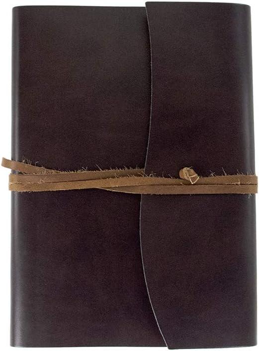 Gr/ö/ße A4 23cm x 30cm Romano Handgemachtes Italienisches Notizbuch aus recyceltem Leder