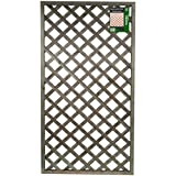 Rigid Lattice Pattern Garden Trellis 90cm Wide x 180cm High Panels