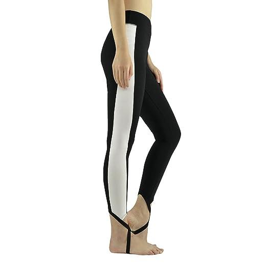 Amazon.com: Fanceey Women Yoga pants high waist trample feet ...