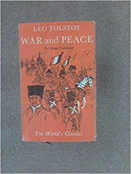 War and Peace (World's Classics) by Leo Tolstoy (1933-12-05)
