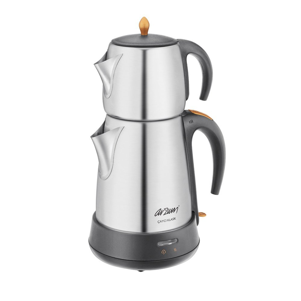 Arzum AR311Cayci Klasik Tea Machine, acier inoxydable, mat inox AR3004