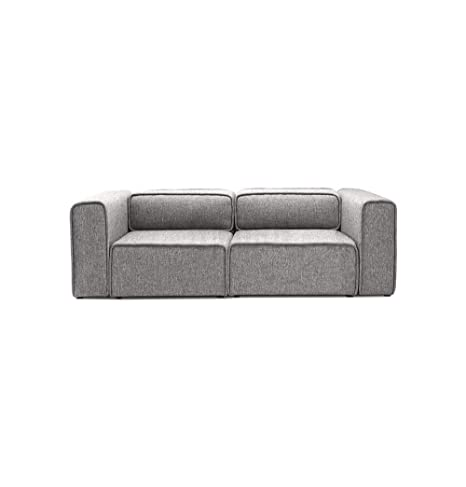 Amazon.com: Moderno sofá modular de 2 plazas – Björn ...
