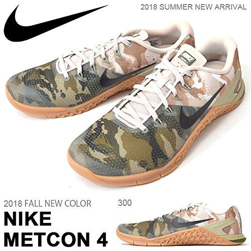 Nike de Metcon 4  Chaussures de Fitness 300) Homme Vert B0796B8XY6