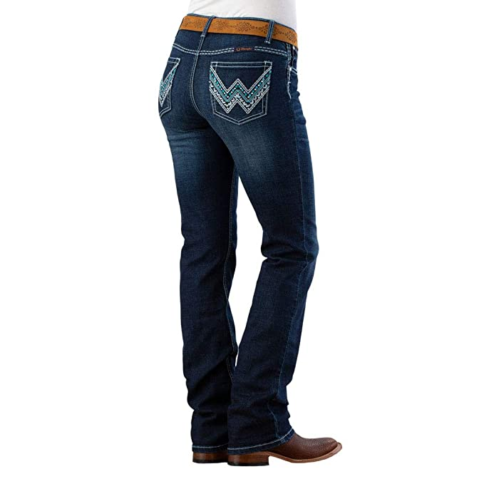 Amazon.com: Wrangler Shiloh Glendale Jeans: Clothing