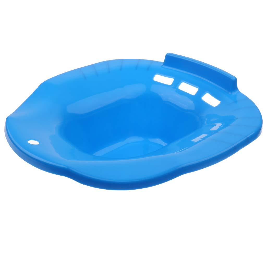 CUTICATE Durable Toilet Sitz Baths for Hemorrhoidal Relieve Pregnant Women Elderly - Blue by CUTICATE