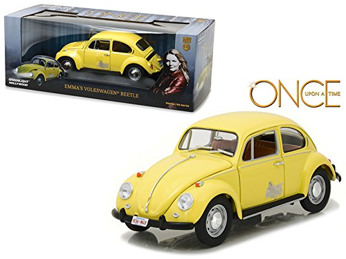 Emma's Volkswagen Beetle Yellow Once Upon a Time TV Series 2010 Current 1/18 Diecast Model Car by Greenlight 12993