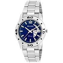 BigOwl Blue Dial Day and Date Analogue Women Wrist Watch