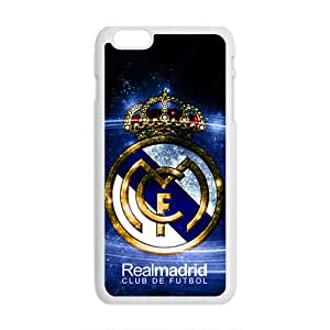 Realmadrid Club Of Futbol Fashion Comstom Plastic case cover For Iphone 6 Plus