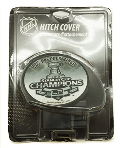NHL LOS ANGELES KINGS 2012 STANLEY CUP CHAMPIONS HITCH COVER (La Kings Trailer Hitch Cover compare prices)