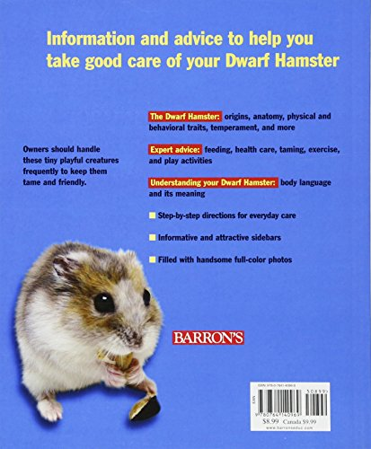 Dwarf Hamsters (Complete Pet Owner's Manual) 2