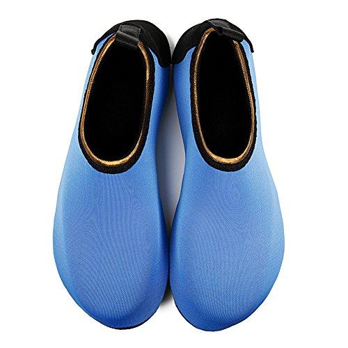 Chaussure Schage Hmiya Bain Chaussettes Aqua Yoga Hommes Bleu Et Barefoot Rapide Femmes De Pour Or Water Shoes Beach rHSBwCrxq
