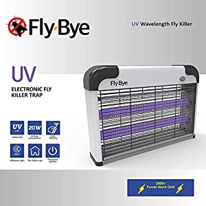 Seekavan Zanzariera Elettrica, Lampada Anti Insetti Anti Zanzare con Luce UV 20 Watt 3.000V 1 spesavip