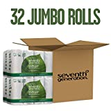 Seventh Generation Paper Towels, 100% Recycled Paper, Right Size Sheets, 8 Count (Pack of 4)